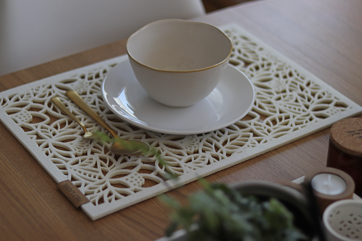 Podkładki filcowe na stół do Twojego wnętrza